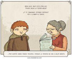 Frodo y Samsagaz