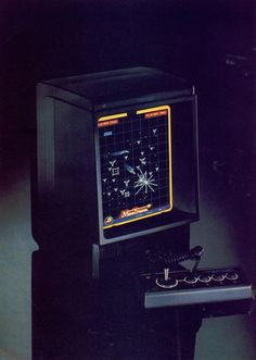 The Vectrex — cult 2D vector based retro game console. Loved the Scramble game.