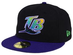 Tampa Bay Rays New Era MLB Cooperstown 59FIFTY Cap Tampa Bay Rays, Dad Hats, Snapback, Mlb, Latest Fashion, Baseball Hats, Dads, The Incredibles, Purple