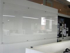 Clear Acrylic Whiteboards by decently exposed. thick perspex in a range of sizes affixed to wall with satin anodised brass fixings. Home Design Decor, House Design, Interior Design, Office Boards, Wall Planner, Acrylic Furniture, Clear Perspex, Home Theater Rooms, Cool Walls