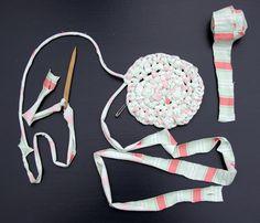 20120114-toothbrush-rug-making - RAG RUG!