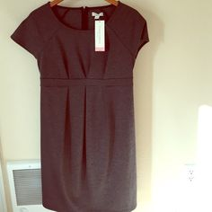 "Liz Lange Maternity Dress NWT Maternity Dress. Slight empire waist with cute pleats in the front. Size small. Brand new condition. Rayon, spandex, polyester blend. Midi length. 37"" long. Bust 16"" across. Happy Poshing! Liz Lange Dresses Midi"