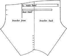 1670-tal, byxor, breeches.