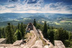 CASTLE KAŠPERK - from Kašperk castle you will see world with a different perspective#kasperk#castle#czech#family#fun#travel#kids