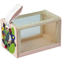 Hunt, collect and observe bugs and creepy crawlies with our wooden bug box. Outdoor Toys, Outdoor Fun, Nature Activities, Activities For Kids, Mulberry Bush, Little Critter, Wood Boxes, Toy Store, Our Kids