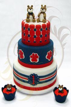 Caketutes Cake Designer: Bolo Ursos - Bear Cake