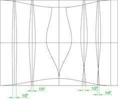 corset drafting tutorial - improvement