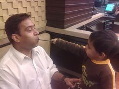 Amit Gupta- Spending some lovely and carefree moments with my son !!