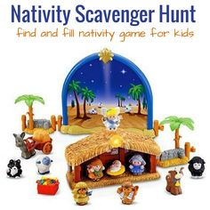 Find and Fill Nativity Scavenger Hunt For Preschoolers Christmas Activities For Toddlers, Advent Activities, Preschool Christmas, Toddler Christmas, Christmas Nativity, Holiday Activities, A Christmas Story, Christmas Fun, Holiday Fun