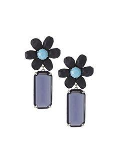 Les Nereides | Les Nereides Statement Flower Earrings at ASOS - StyleSays