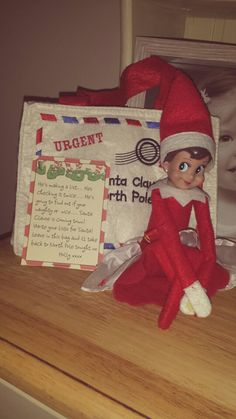 Day 9.....He's making a list, checking it twice :)