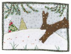 Sharon Blackman hare on snow