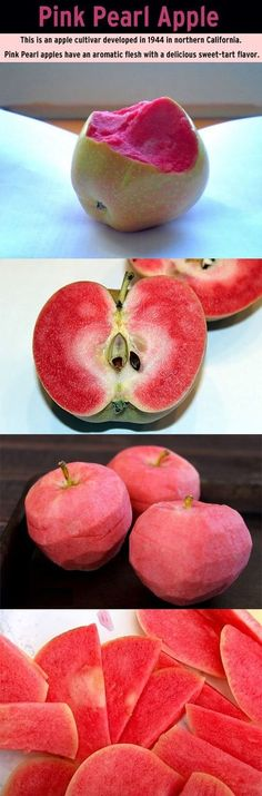 pink pearl apples... - (northern california) - #pink #pinkpearlapples #apple #apples #northerncalifornia