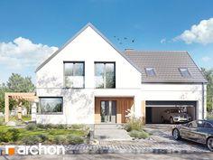 projekt Dom w amorfach (G2) widok 1