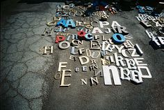 Walking around the Alameda Antique Show with my plastic toy camera. Shooting stuff I liked. I love letters...     So You Want To Be A Picker? Online Course -CLICK ON THE PICTURE ABOVE ^^^