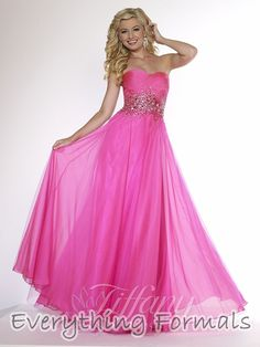 Tiffany Pink Ball Dresses Prices