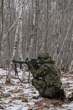 Canadian Soldiers, Canadian Army, Military Art, Military Uniforms, Force Pictures, Assault Rifle, Modern Warfare, Armed Forces, Airsoft