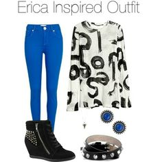 Designer Clothes, Shoes & Bags for Women Teen Wolf Erica, Proenza Schouler, Alexander Mcqueen, Sweatpants, Polyvore, Stuff To Buy, Inspiration, Outfits, Shopping