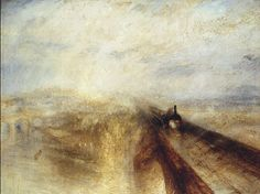 Rain, Steam and Speed – The Great Western Railway; 1844. William Turner.