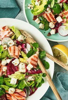 Diner Recipes, Clean Recipes, Brunch Recipes, Summer Recipes, Cooking Recipes, Superfood Salad, Healthy Recepies, Tapas, Food Inspiration