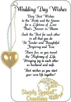Wedding Wishes Words