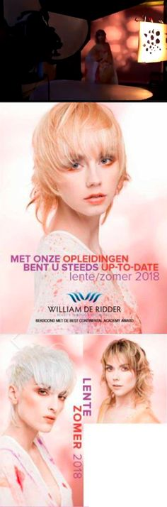 WDR Summer Breeze Collection 2018, Hairstyling by William De Ridder. photo by Pat Verbruggen make up: Chris Del Anno, fashion: Nicky Vankets hair cosmetics: Paul Mitchell models: NAOM V., KIM, MANDY by mad'N'mode