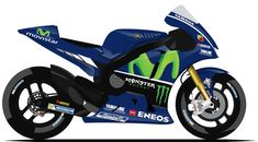 MOVISTAR YAMAHA MOTOGP   #25 - Maverick Viñales ( ESP )   #46 - Valentino Rossi ( ITA )