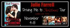 BLOG TOUR - Driving Me to Christmas by Julie Farrell - Book Written Love Affairs Promotions, Contemporary Romance, M/M, Seasonal  (November)