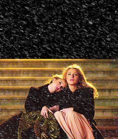 Spotted: B and S on the steps of the Met