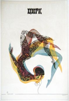 Vintage Soviet Circus Poster, L. Modina
