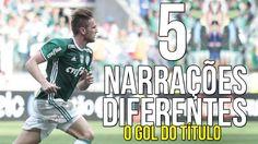 Gol de Fabiano em 5 Narrações diferentes: Oscar Ulisses, José Silvério, ...