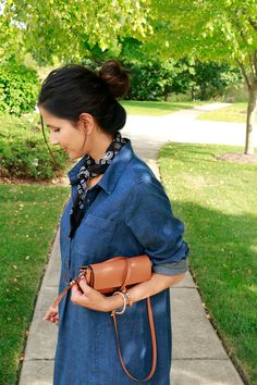 Denim Tunic Dress -