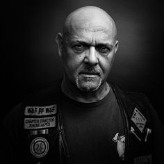 Hells Angels portraits by Nicolas Auproux