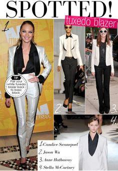 dd5be4c0c9f0 Full White Tuxedo Blazer – The New Office Look! Carrie Bradshaw LiedWhite  TuxedoTuxedo JacketOffice ...