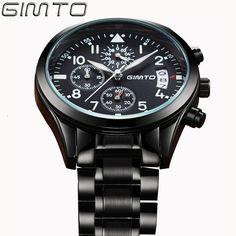 $41.45 (Buy here: https://alitems.com/g/1e8d114494ebda23ff8b16525dc3e8/?i=5&ulp=https%3A%2F%2Fwww.aliexpress.com%2Fitem%2FGIMTO-Brand-Sports-Quartz-Watch-Men-Fashion-Casual-Luxury-Man-Watch-Steel-Waterproof-Date-Men-s%2F32696060943.html ) GIMTO Brand Sports Quartz Watch Men Fashion Casual Luxury Military Watch Steel Waterproof Men's Watches Clock Relogio Masculino for just $41.45