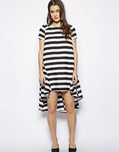 Influence Striped Smock Dress