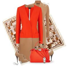 A fashion look from November 2014 featuring Fendi coats, Fendi pumps and Fendi handbags. Browse and shop related looks.