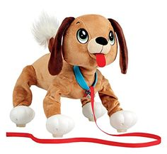 Peppy Pups Mutt - Peppy Pups is the soft and cuddly friend your child has been looking for, without the responsibility or commitment of a regular puppy! this Walking dog toy has pep and bounce in his step wherever your child decides to walk him, making him a lively, enthusiastic companion. Let your little one use ...
