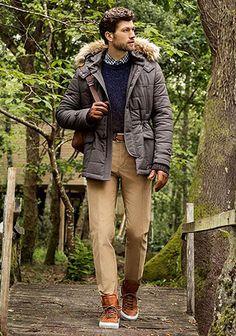 【緑ツイードジャケット×ジーンズ】秋のジャケットコーデ(メンズ)   Italy Web