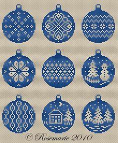 Gallery.ru / И ещё шарики от Rosemarie - Новый год и Рождество_1/freebies - Jozephina