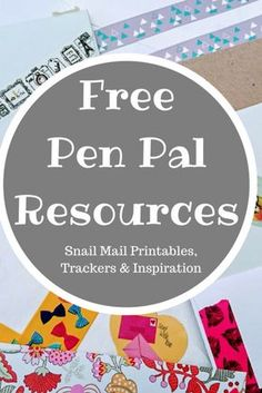 A bumper list of free pen pal resources that are available at the click of a button, from pen pal trackers to writing paper and creating your own snail mail Writing Paper, Letter Writing, Letter Art, Pen Pal Tracker, Snail Mail Pen Pals, Snail Mail Gifts, Fun Mail, You've Got Mail, Pen Pal Letters