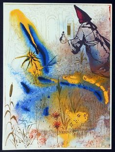 10 Raras Ilustraciones Salvador Dali de Shakespeare Romeo y Julieta