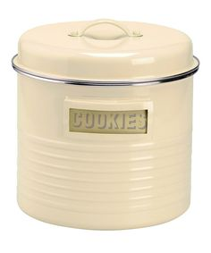 Typhoon Vintage Cookie Canister | zulily