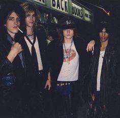 Rare pic 1985