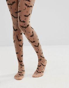 ASOS - Collants d Halloween motif chauve-souris 08823ed9067