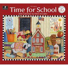 Time for School 2015 & 2016 Wall Calendar: 9781627801355 | | Calendars.com