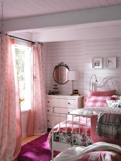 pretty, sweet cottage bedroom