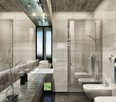 Haras House by Besonias Almeida Arquitectos--The men's locker room at the Four Seasons. (not seriously)