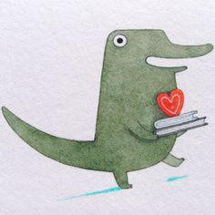 Gray navy nursery print childrens art baby boy nursery decor - 1000 Images About Illustration Crocodiles On Pinterest