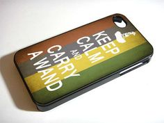 KEEP CALM AND CARRY A WAND for iPhone 4/4s/5/5s/5c, Samsung Galaxy s3/s4 case